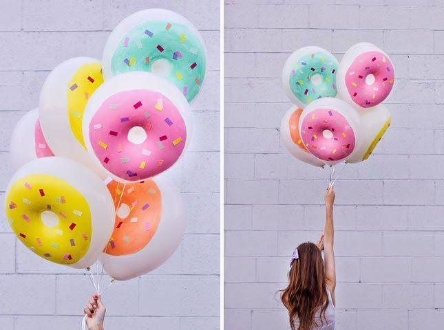Ideas sobre decoraci n con globos de helio adb for Donde comprar globos