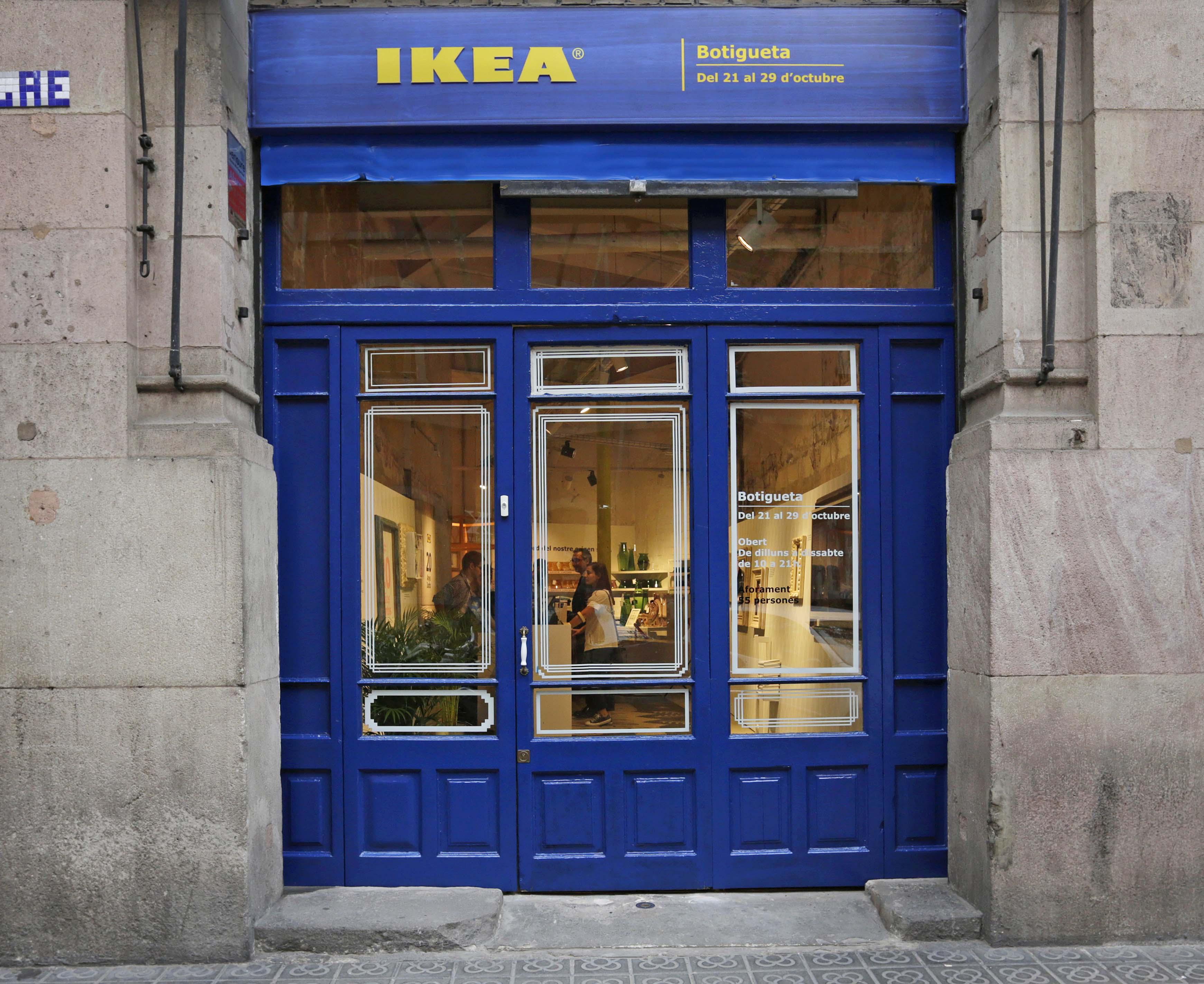 Ikea abre una tiendita en el born en el coraz n de - La botigueta barcelona ...