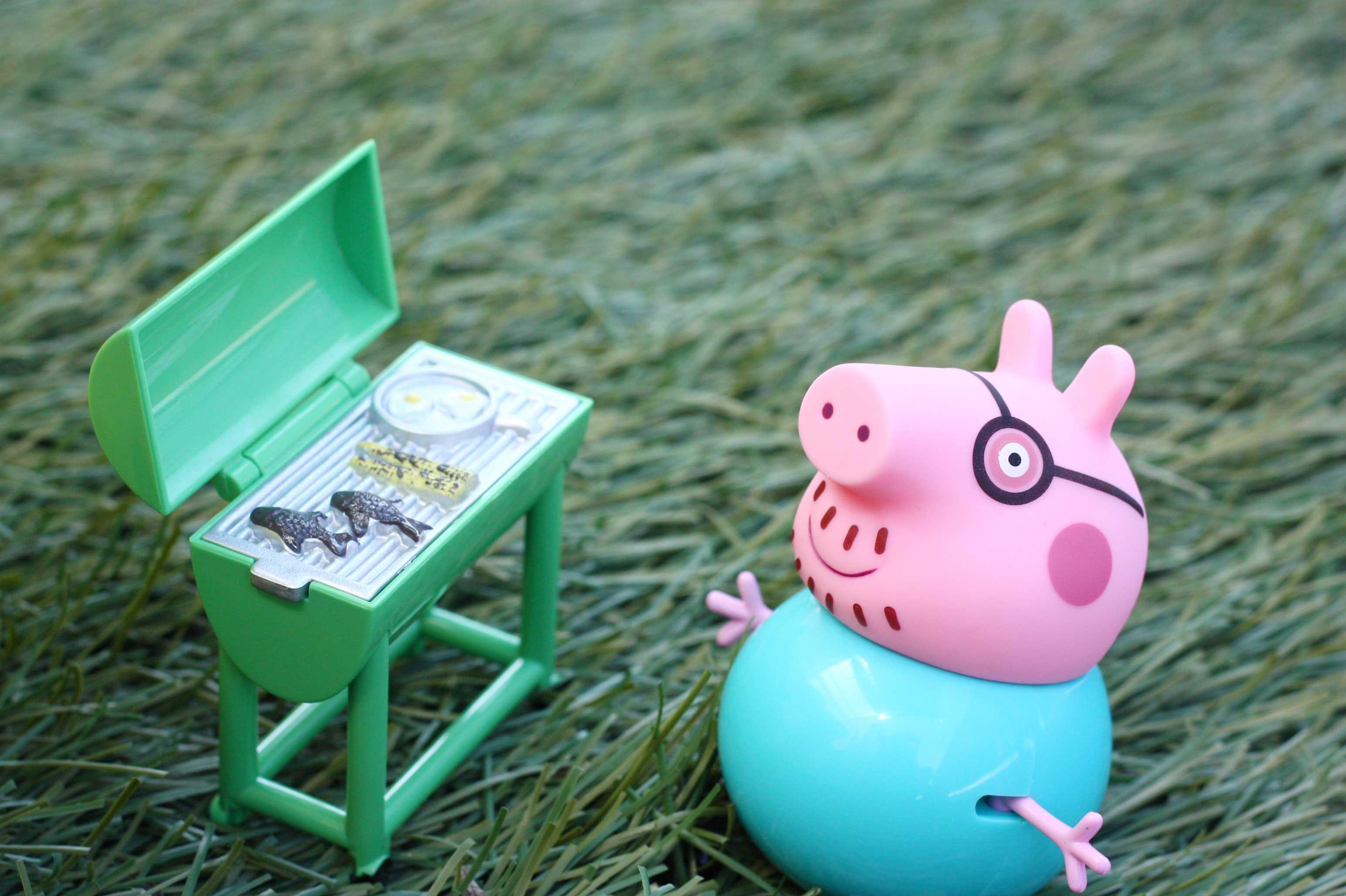 La autocaravana de Peppa Pig de Bandai + SORTEO | AdB | Blog mama